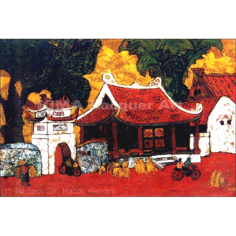 The village pagoda
